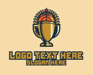Champion - Basketball Trophy logo design