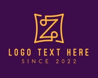 Fancy - Golden Fancy Letter Z logo design