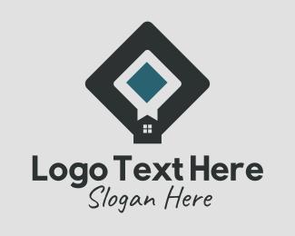 Apartment - Apartment Housing Bookmark logo design