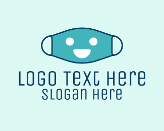 Surgical Mask - Healthy Face Mask logo design