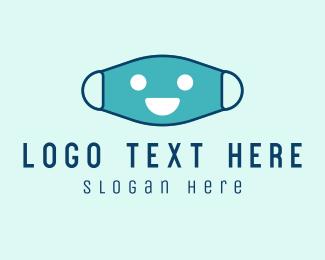 Health Care - Healthy Face Mask logo design