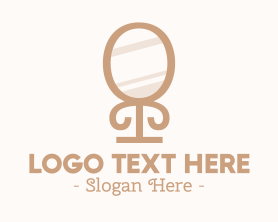 Little - Beauty Salon Mirror logo design