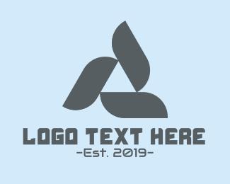 Engineer - Triangle Turbine logo design