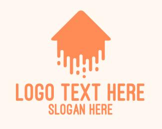 Orange Orange - Orange Flying House logo design