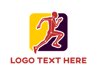 Run - Tech Runner logo design
