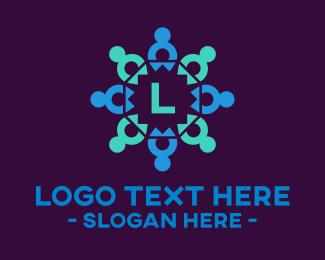 Community Center - Community Lettermark logo design