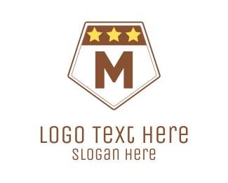 Military - Military Lettermark logo design