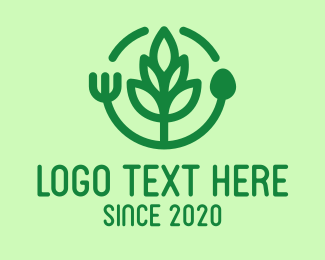 Healthy Food - Healthy Eating Restaurant logo design