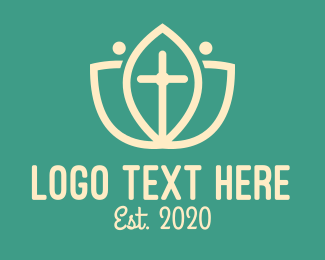 Bible Study - Nature & Religion logo design