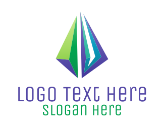 Diamond - Abstract Diamond logo design