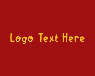 Taco - Fun Block Wordmark logo design