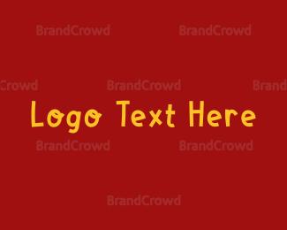 Fun - Fun Block Wordmark logo design
