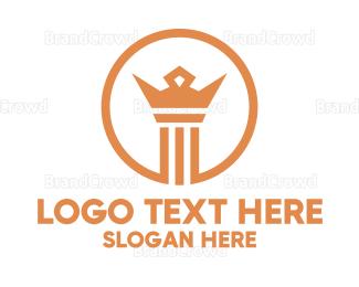 Lawyer - Crown Law Firm logo design