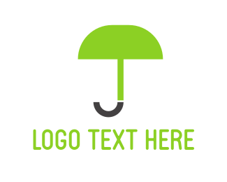 Apparel - Green Umbrella logo design