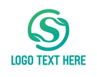 Aromatherapy - Gradient S Symbol logo design