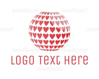 Planet - Planet Love logo design