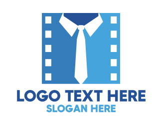 Neck Tie - Film Director logo design