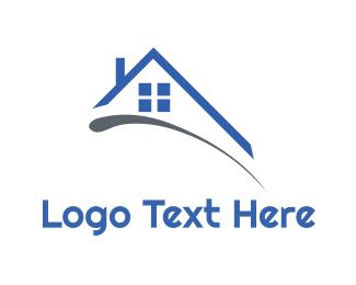 Chimney - Roof & Window logo design