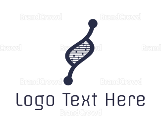 Biology - DNA Genetics logo design