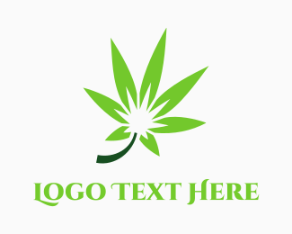 Vape - Green Marijuana logo design