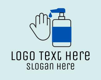 Liquid - Liquid Hand Soap  logo design
