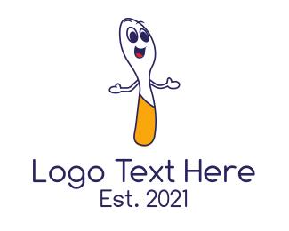 Spoon - Happy Spoon logo design