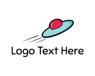 Spacecraft - Fast Spacecraft logo design