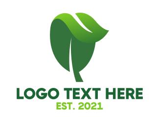 Green Energy - Herbal Nature Leaf logo design