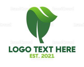 Dietitian - Herbal Nature Leaf logo design