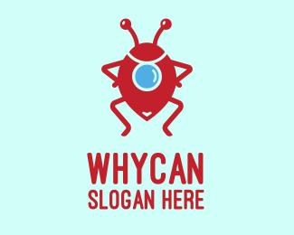 Bug Bug Locator logo design