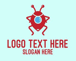 Guide - Bug Locator logo design