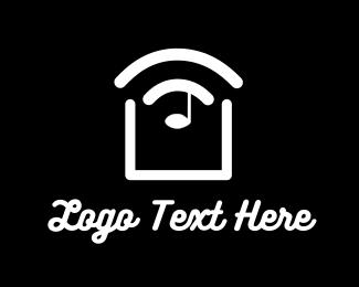 Sound - Slice Sound Music logo design