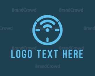 Apps - Wifi Clock logo design