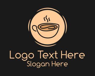 Espresso - Hot Espresso Coffee logo design