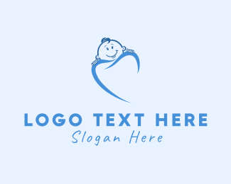 Blue Baby - Pediatric Dentistry logo design