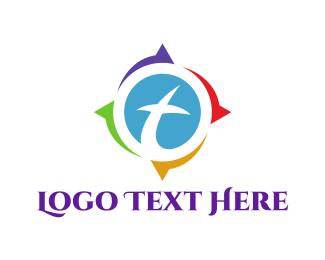Cross - Cross Compass logo design