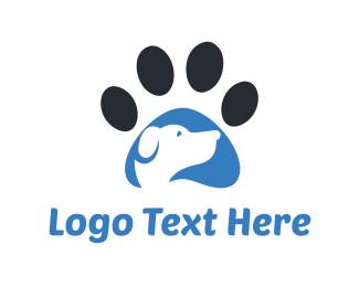 Paw - Dog & Paw logo design