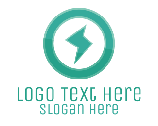Power - Power Electric Green logo design