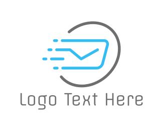 Postcard - Fast Post logo design
