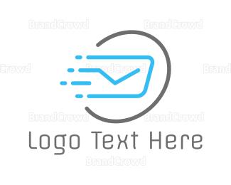 Airmail - Fast Post logo design