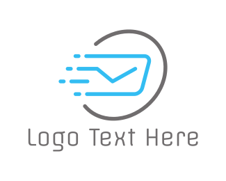 Speed - Fast Post logo design
