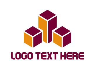 Construction - Abstract Buildings logo design
