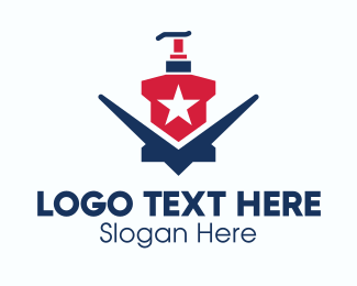 Dispenser - American Liquid Soap logo design