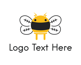 Electrical Energy - Electrical Bee logo design