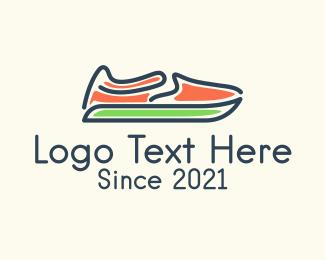 Athlete - Athletic Shoes logo design