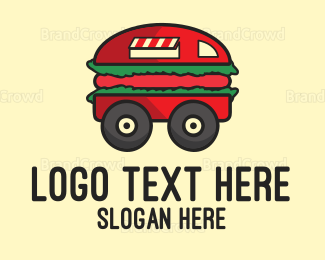 Food Truck - Burger Truck logo design