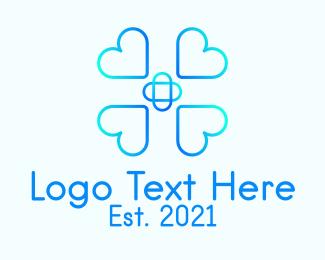 Health Care - Heart Health Care logo design