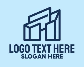 Design Firm - Blue Architecture Firm  logo design