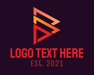 Player - Medie Player Button logo design