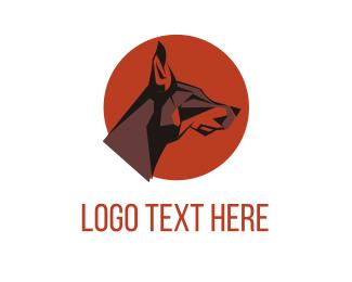 Breed - Dog Circle logo design